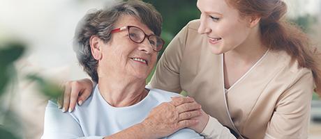 Informationen für pflegende Angehörige<br>Corona-Sonderregelungen für die häusliche Pflege
